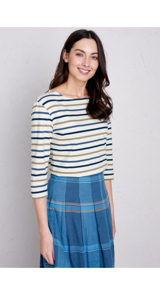 Seasalt Clothing Sailor Tri Breton Mushroom