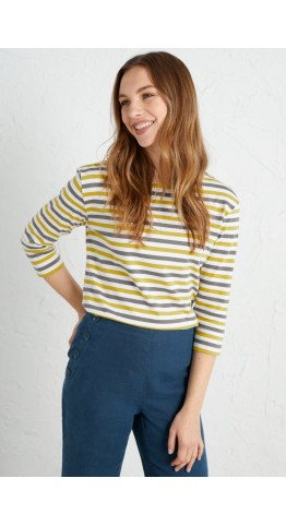 Seasalt Clothing Sailor Top Mini Cornish Duet Dune