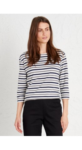 Seasalt Clothing Sailor Top Mini Cornish Duet Midnight