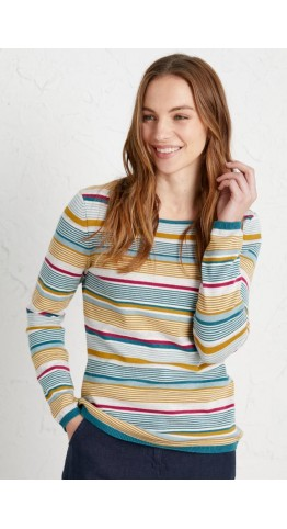 Seasalt Clothing Brill Jumper Baran Lofty Swell