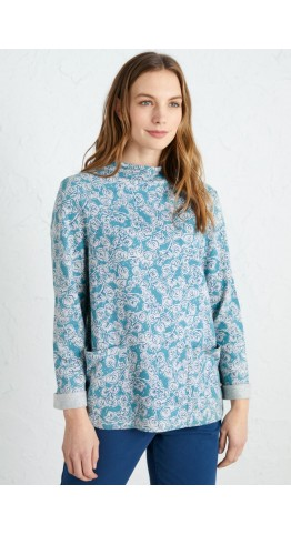 Seasalt Clothing Oceangoing Sweatshirt Trailing Vine Anchorage
