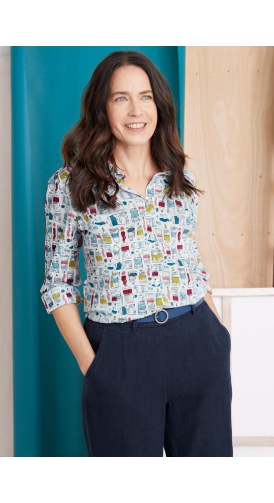 Seasalt Clothing Larissa Shirt Paint Box Mix