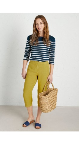 Seasalt Clothing Brawn Point Crops Dune