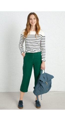 Seasalt Clothing Brawn Point Crops Watson Green