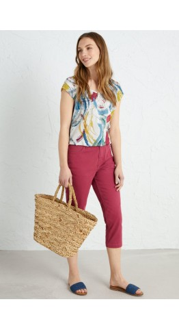 Seasalt Clothing Albert Quay Crops Currant