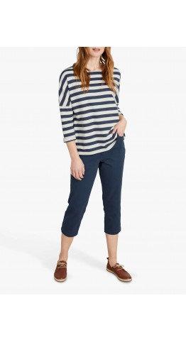 Seasalt Clothing Albert Quay Crops Midnight