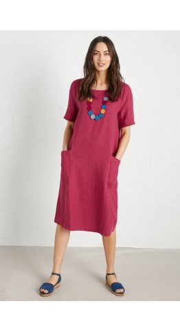 Seasalt Clothing Painting Class Dress Currant