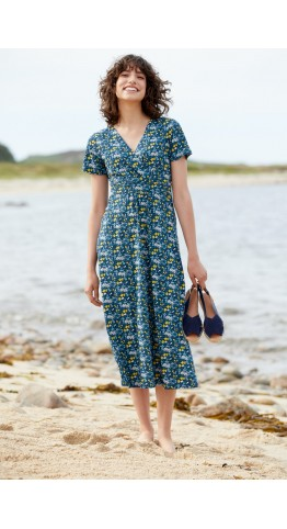 Seasalt Clothing Chapelle Dress Flower Marks Harbour