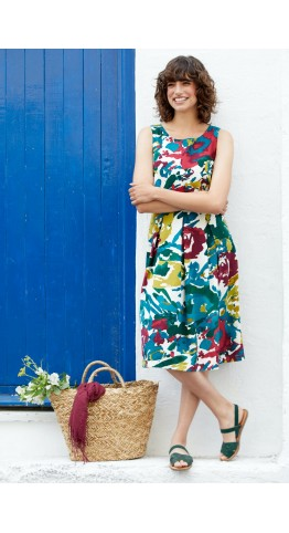 Seasalt Clothing Merthen Dress Artist's Impression Charm