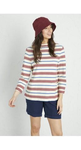 Seasalt Clothing Oceangoing Sweatshirt Gwennol Dahlia Cargo