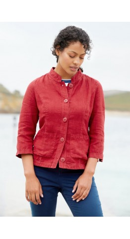 Seasalt Clothing Bullfinch Jacket Dahlia