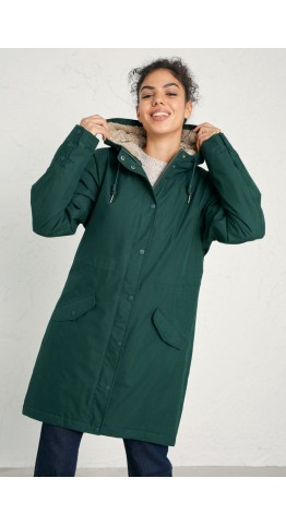 Seasalt Clothing Plant Hunter Coat Firth