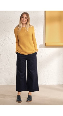 Seasalt Clothing Makers Jumper Sunglow
