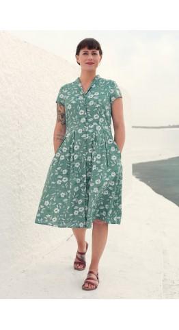 Seasalt Clothing Brenda Dress Moorflower Succulent