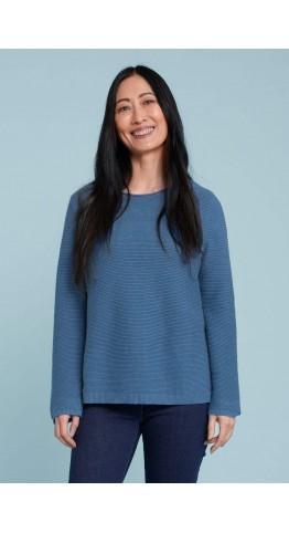 Seasalt Clothing Makers Jumper Cornish Blue