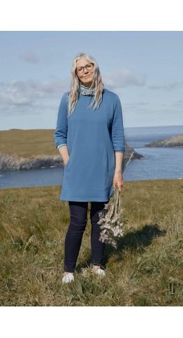 Seasalt Clothing Rivermeet Tunic Cornish Blue