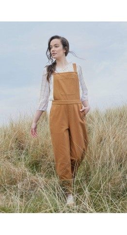 Seasalt Clothing Wheatsheaf Dungaree Ginger