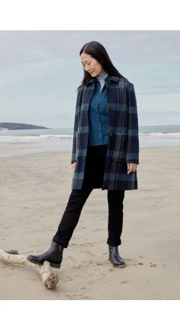 Seasalt Clothing Penmennor Coat Hoelan Maritime