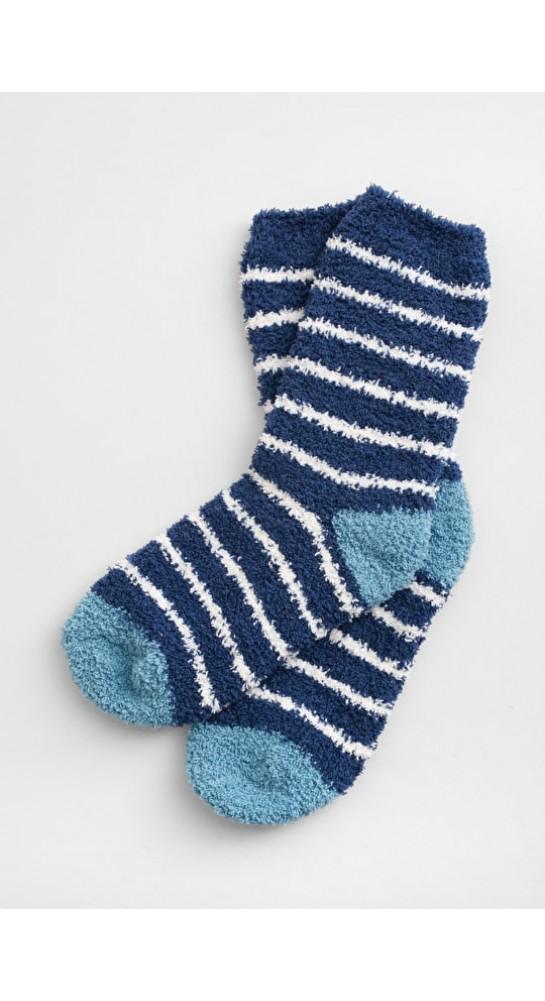 Seasalt Clothing Short Fluffies Socks Night Ecru