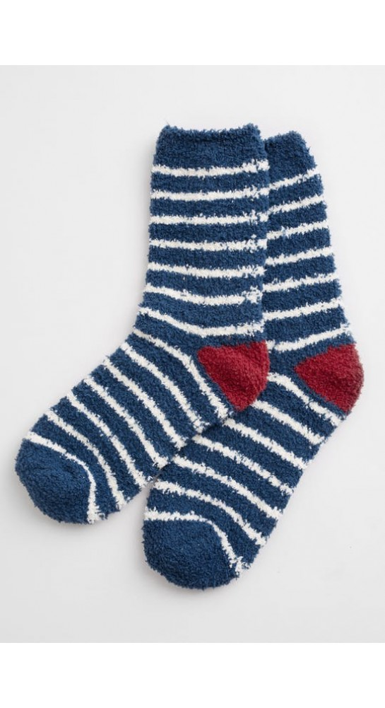 Seasalt Clothing Short Fluffies Socks Breton Galley