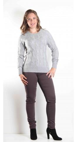 Soyaconcept Bjanka Knit Grey Melange