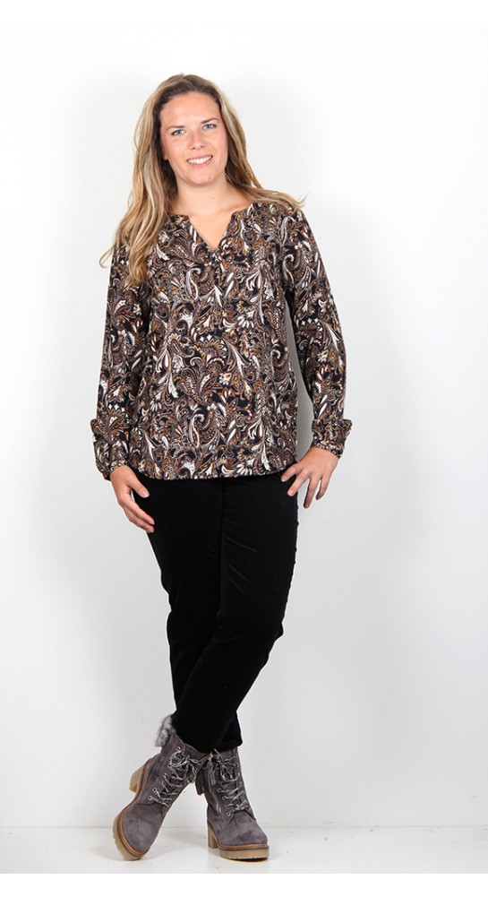 Soyaconcept Paisley Blouse Ruby