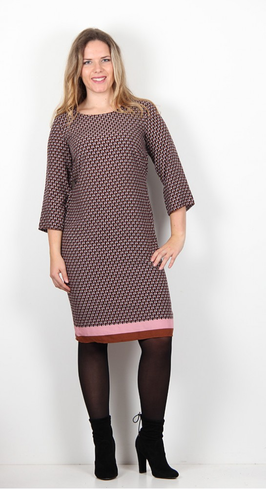 Soyaconcept NidaTunic Dress Rust Print