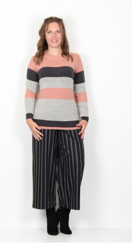 Soyaconcept Alvie Pullover Rose Stripe