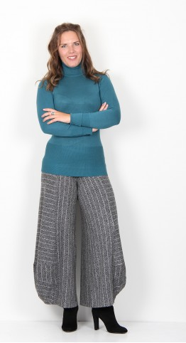 Soyaconcept Dollie 145 Roll Neck Pullover Green Teal