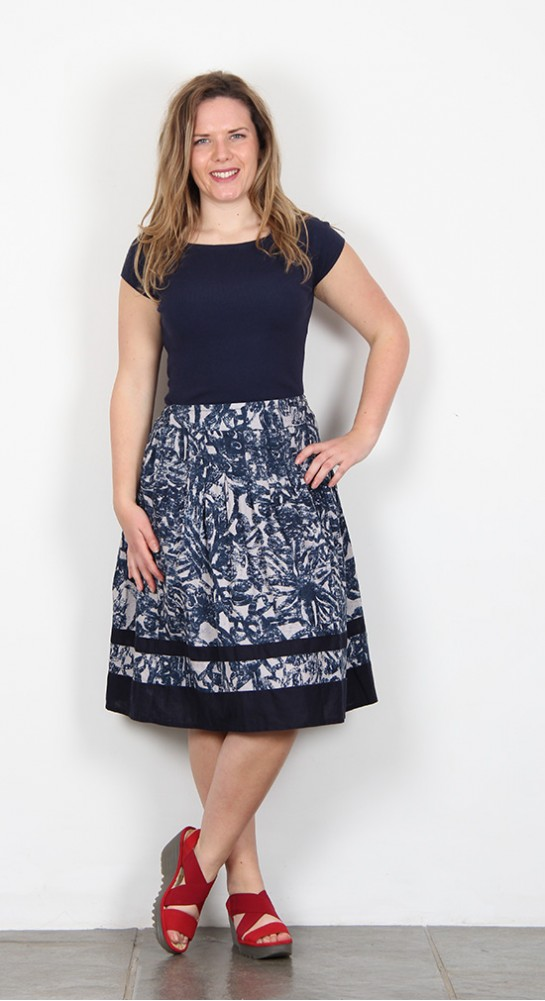 Thought Clothing Lovelace Skirt Blue