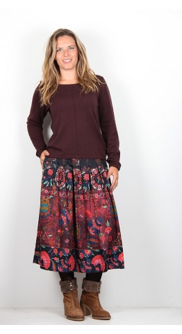 Thought Clothing Orphie Jumper Aubergine