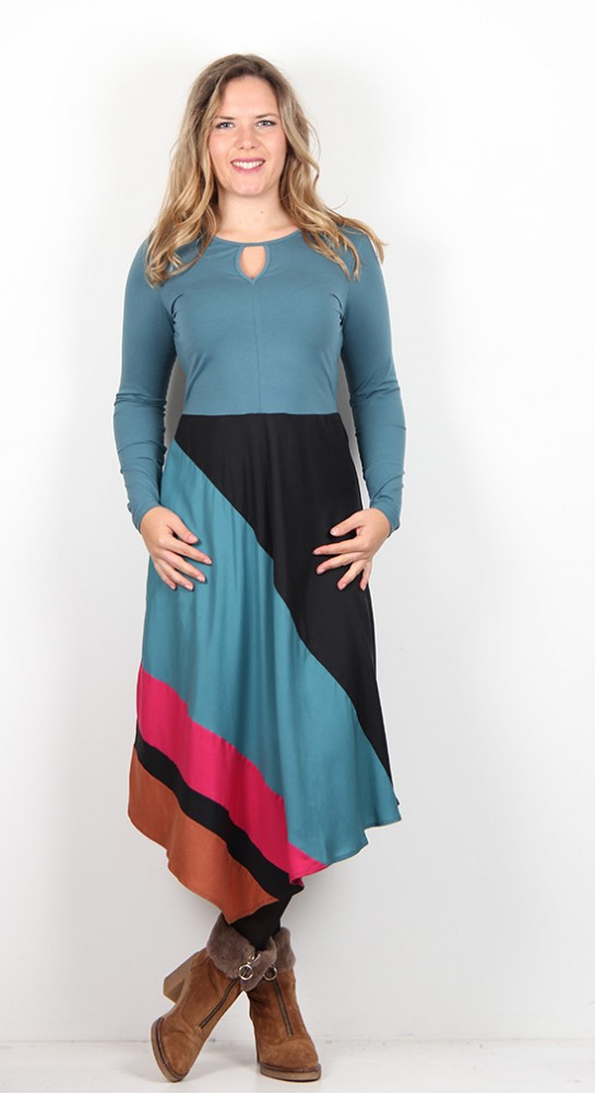 Thought Clothing Claudette Dress kingfisher