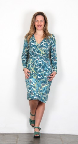 Thought Clothing Emmeline Dress Kingfisher