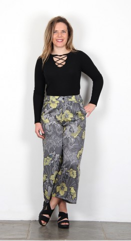 Thought Clothing Lily Nouveau Culottes Graphite
