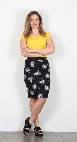 Thought Clothing Pia Skirt Black