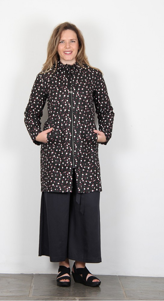 Thought Clothing Polka Waterproof Coat