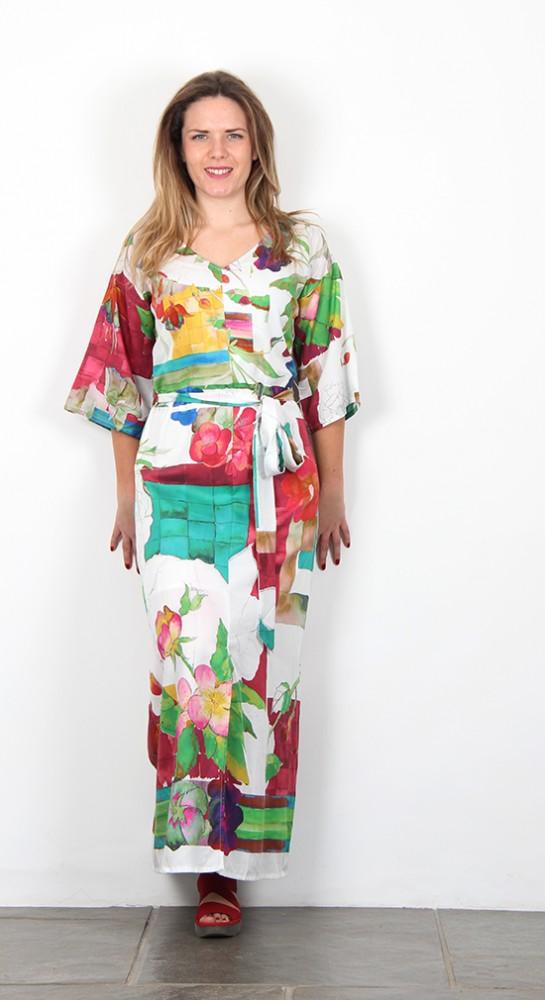 Thought Clothing Dominika Kimono Sleeve Maxi Dress