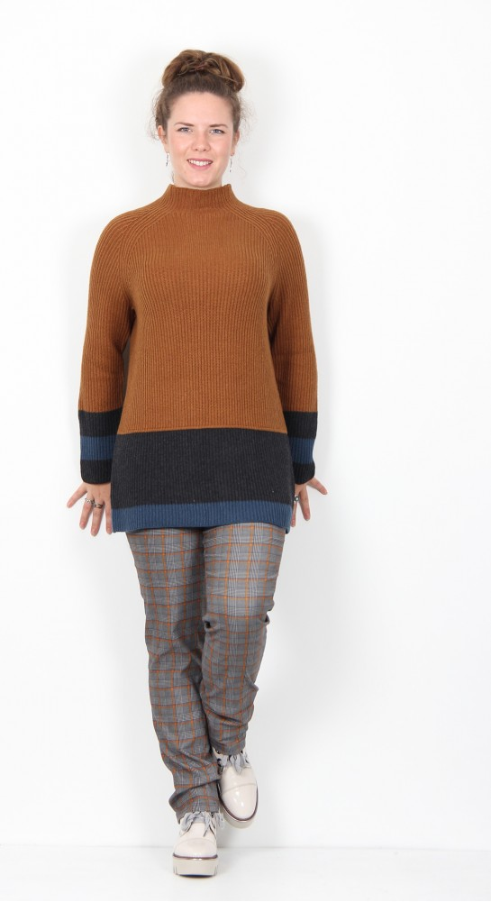 Thought Clothing Helmi Organic Cotton Wool Jumper Toffee Brown