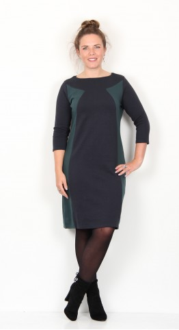 Thought Clothing Katherina Organic Cotton Shift Dress Midnight
