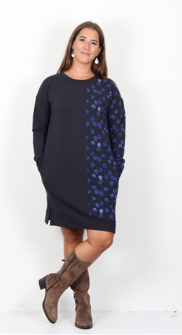 Thought Dorete Tunic Midnight