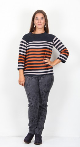 Thought Clothing Sail La Vie Knit Harvest Orange