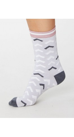 Thought Clothing Arrow Socks sea Mist