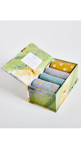 Thought Clothing Four Pack Pastoral Nature's Socks