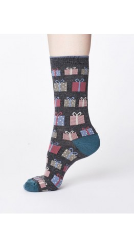 Thought Clothing Gift Socks Marle Grey