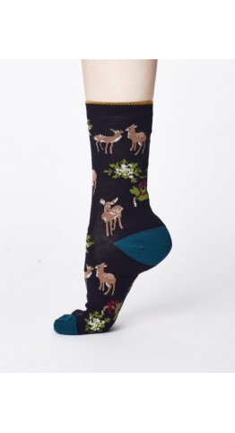 Thought Clothing Renko Socks Navy