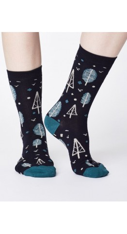 Thought Clothing Erskie Socks Navy