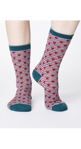 Thought Clothing Herbert Socks Marle Grey