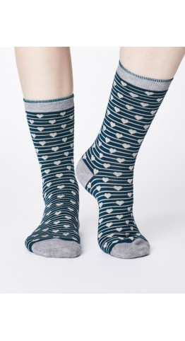 Thought Clothing Herbert Socks Teal