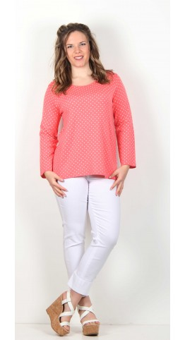 Two Danes Pippa Knit Coral