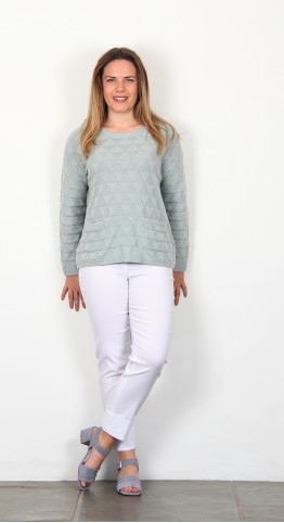 Two Danes Elisa Jumper Misty Green
